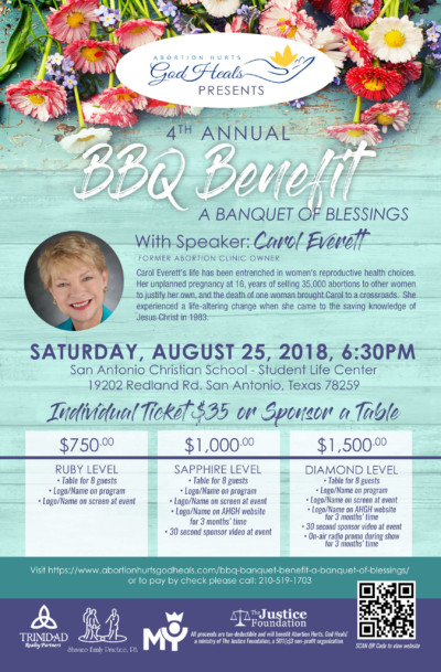 BBQ Banquet Benefit Flyer